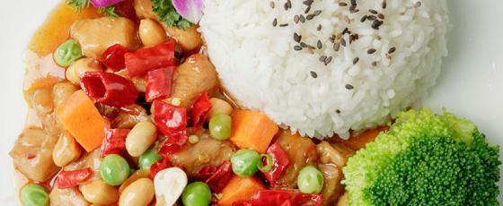 福建漳州冷冻盖浇饭速食品方便菜 宫保鸡丁 料理包半成品快餐外卖菜肴包
