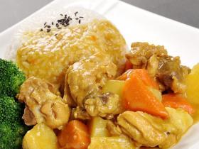 厦门冷冻料理包外卖快餐料包 泰式咖喱鸡 半成品菜商用菜肴速食包速冻盖浇饭料理包