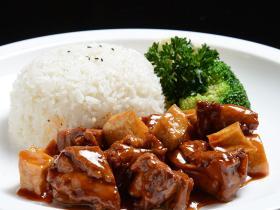 秘传食材冷冻料理包 照烧鸡腿肉 熟食菜小碗菜速食餐饮料理包 餐饮批发外卖简餐食材餐包