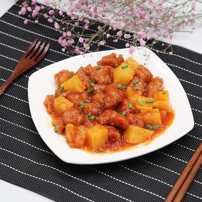 荔枝肉 漳州秘传调理包 料理包 简餐包 菜肴 连锁 方便米饭