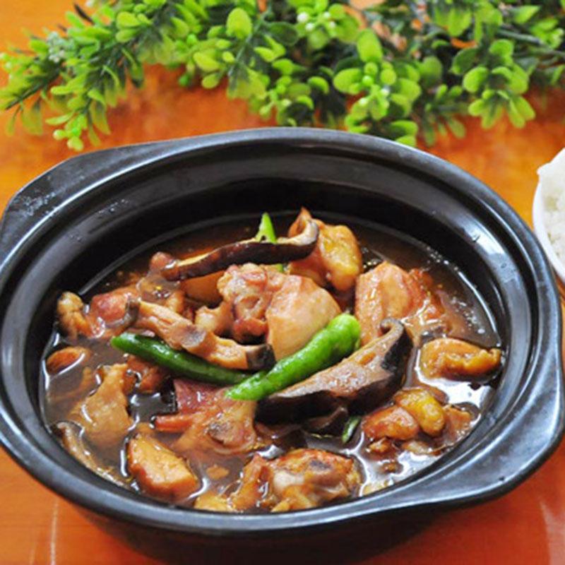 福建厦门料理包厂家代理 黄焖鸡 常温盖浇饭速食食品方便菜半成品菜快餐外卖料理包