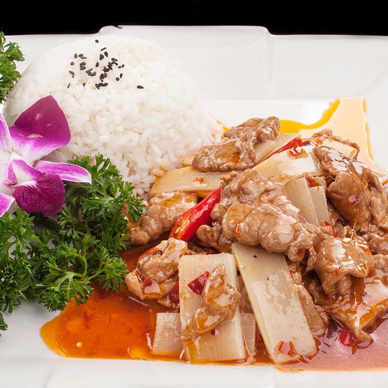 漳州秘传料理包 秘制川香肉片 方便快餐外卖冷冻半成品盖饭快餐调理包代餐供应